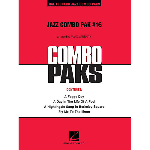 Hal Leonard Jazz Combo Pak #16 (with audio download) Jazz Band Level 3 Arranged by Frank Mantooth