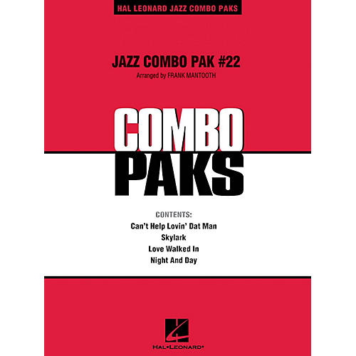 Hal Leonard Jazz Combo Pak #22 (with audio download) Jazz Band Level 3 Arranged by Frank Mantooth