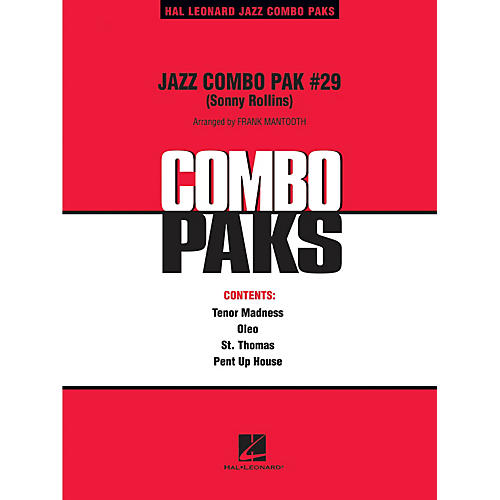 Hal Leonard Jazz Combo Pak #29 (Sonny Rollins) Jazz Band Level 3 by Sonny Rollins Arranged by Frank Mantooth