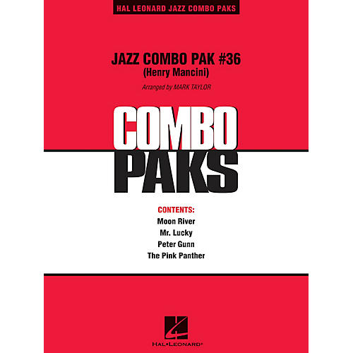 Hal Leonard Jazz Combo Pak #36 (Henry Mancini) (with audio download) Jazz Band Level 3 Arranged by Mark Taylor