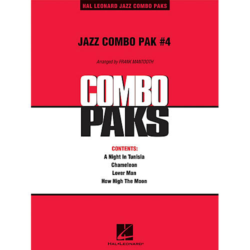 Hal Leonard Jazz Combo Pak #4 (with audio download) Jazz Band Level 3 Arranged by Frank Mantooth