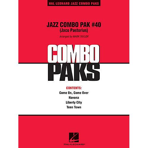 Hal Leonard Jazz Combo Pak #40 (Jaco Pastorius) Jazz Band Level 3 by Jaco Pastorius Arranged by Mark Taylor