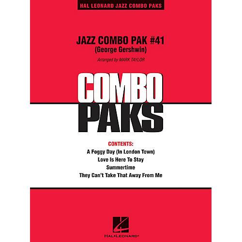 Hal Leonard Jazz Combo Pak #41 (George Gershwin) (with audio download) Jazz Band Level 3 Arranged by Mark Taylor