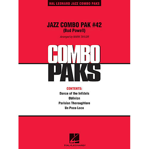 Hal Leonard Jazz Combo Pak #42 (Bud Powell) Jazz Band Level 3 Arranged by Mark Taylor
