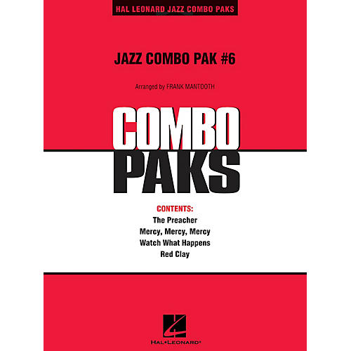 Hal Leonard Jazz Combo Pak #6 (with audio download) Jazz Band Level 3 Arranged by Frank Mantooth
