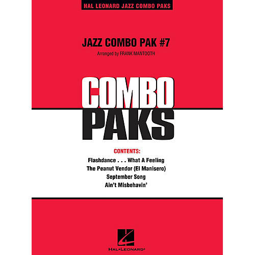 Hal Leonard Jazz Combo Pak #7 (with audio download) Jazz Band Level 3 Arranged by Frank Mantooth
