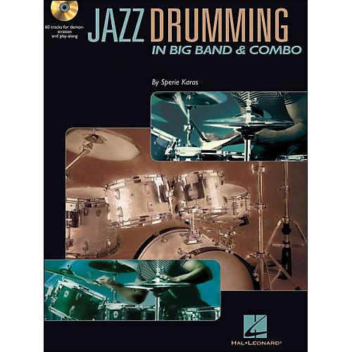 Hal Leonard Jazz Drumming In Big Band & Combo Book/CD