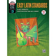 Alfred Jazz Easy Play Along Series, Vol. 3: Easy Latin Standards Book & CD