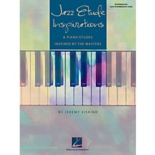 Hal Leonard Jazz Etude Inspirations Educational Piano Solo Book by Jeremy Siskind (Level Inter to Late Intermedi)