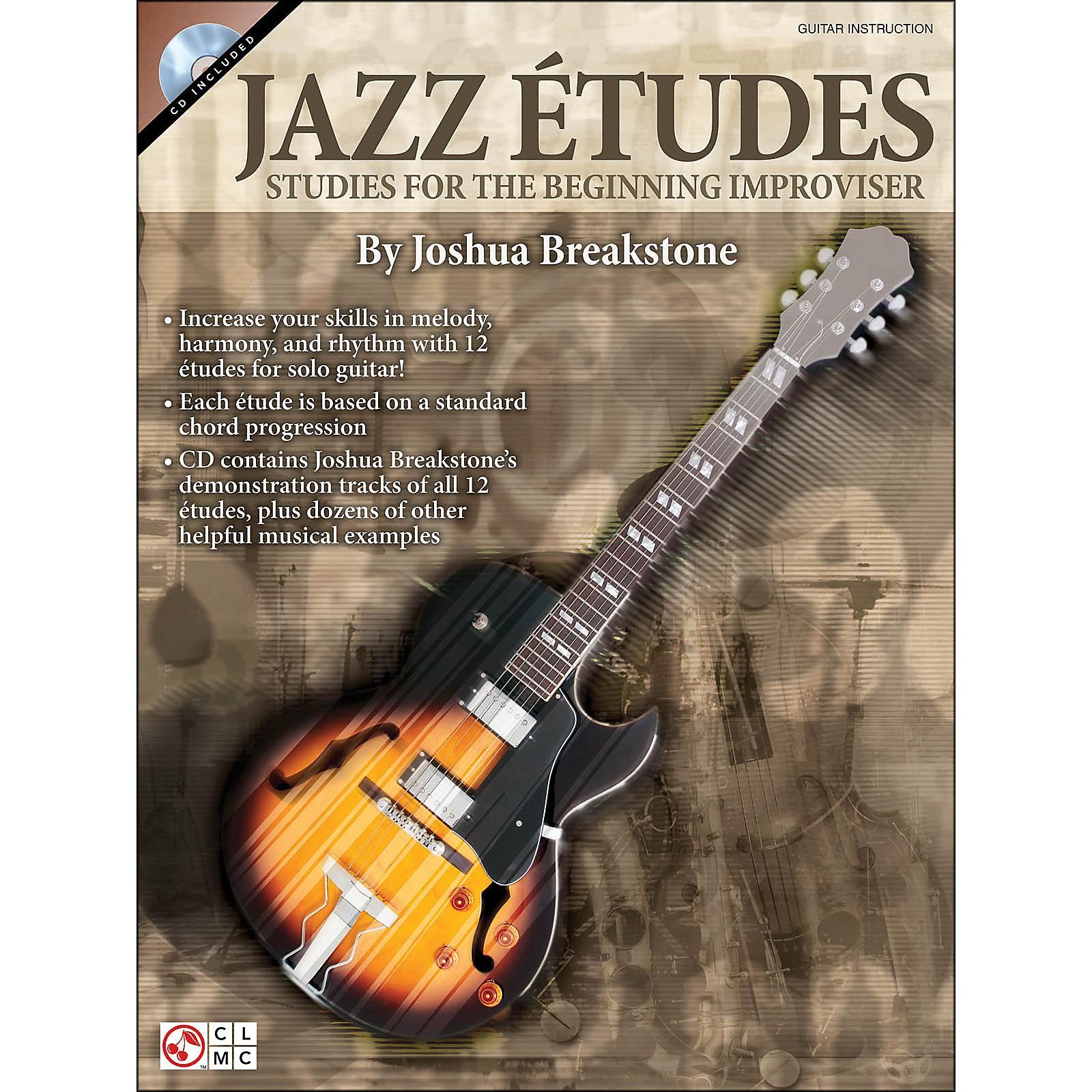 Cherry Lane Jazz Etudes: Studies for The Beginning Improviser (Book/CD)
