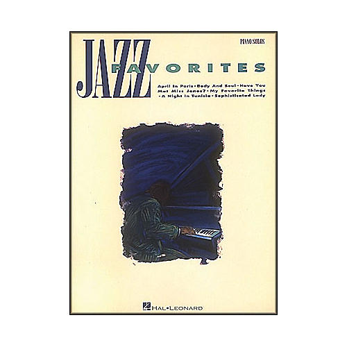 Hal Leonard Jazz Favorites arranged for piano solo