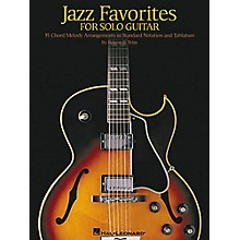 Hal Leonard Jazz Favorites for Solo Guitar Tab Book with Notation