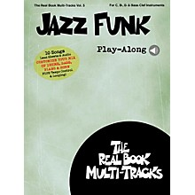 Hal Leonard Jazz Funk Play-Along - Real Book Multi-Tracks Vol. 5