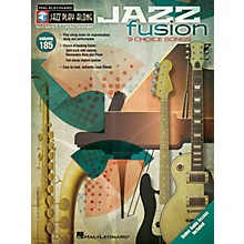 Hal Leonard Jazz Fusion (Jazz Play-Along Volume 185) Jazz Play Along Series Softcover Audio Online by Various