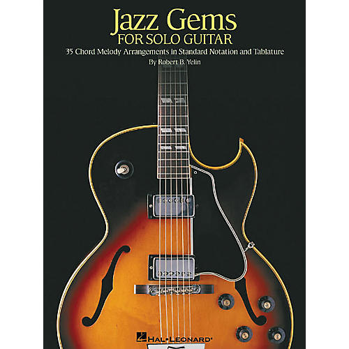 Hal Leonard Jazz Gems for Solo Guitar Book