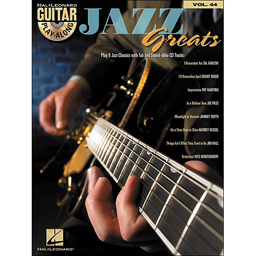 Hal Leonard Jazz Greats - Guitar Play-Along Volume 44 Book/CD