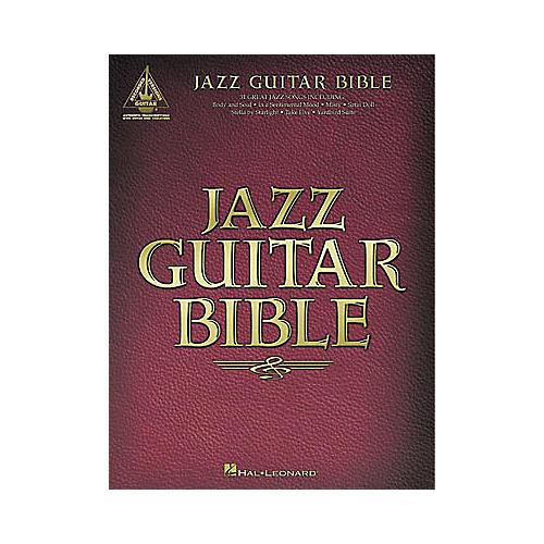 Hal Leonard Jazz Guitar Bible Tab Songbook