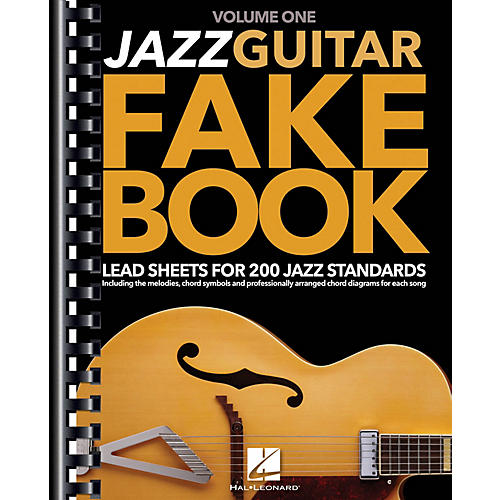 Hal Leonard Jazz Guitar Fake Book - Volume 1 (Lead Sheets for 200 Jazz Standards) Guitar Book Series Softcover