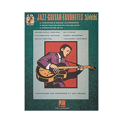 Hal Leonard Jazz Guitar Favorites (Book and CD)