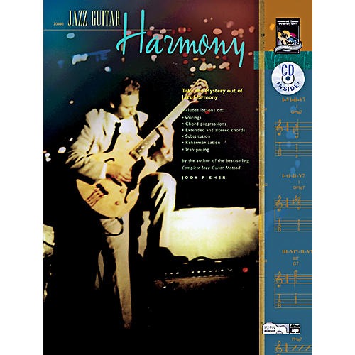 Alfred Jazz Guitar Harmony Book & CD