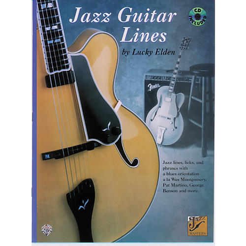 Alfred Jazz Guitar Lines Book/CD