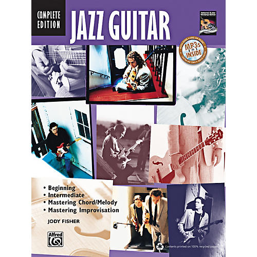 Alfred Jazz Guitar Method Complete Book & CD