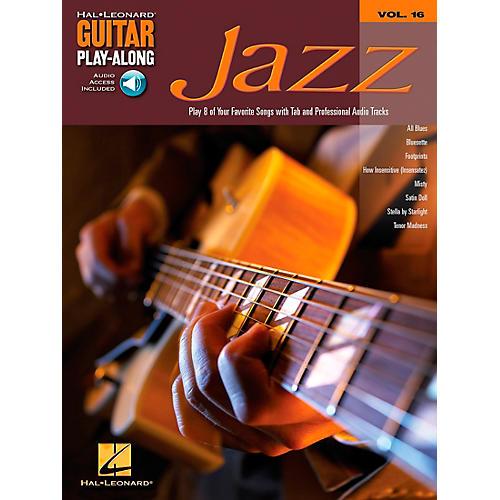 Hal Leonard Jazz Guitar Play-Along Series Book with CD