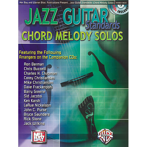 Alfred Jazz Guitar Standards Chord Melody Solos