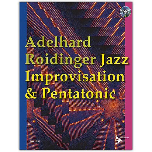 ADVANCE MUSIC Jazz Improvisation & Pentatonic Book & CD