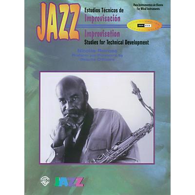 Alfred Jazz Improvisation: Studies for Technical Development for Woodwinds Book