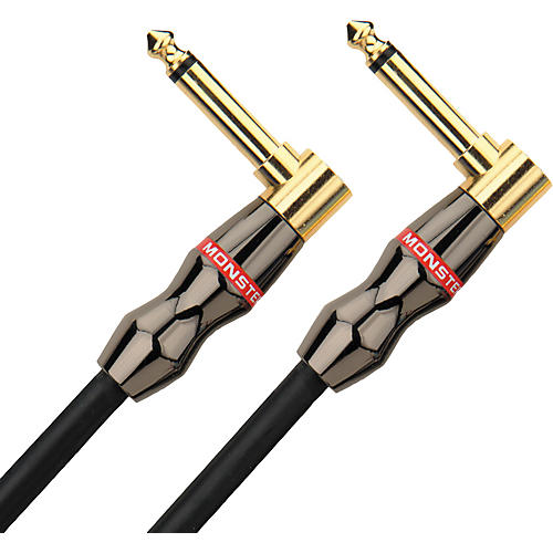 Monster Cable Jazz Instrument Cable Angled-Angled 8