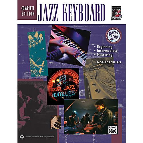 Alfred Jazz Keyboard Method Complete Book & CD