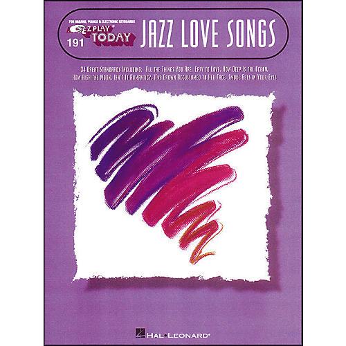 Hal Leonard Jazz Love Songs E-Z Play 191