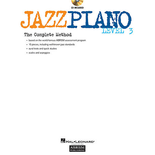 ABRSM Jazz Piano - Level 3 (Level 3) Instructional Series Softcover with CD Written by Various Authors