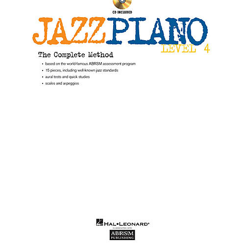 ABRSM Jazz Piano - Level 4 (Level 4) Instructional Series Softcover with CD Written by Various Authors