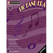 Hal Leonard Jazz Play-Along Series Big Band Era Book with CD
