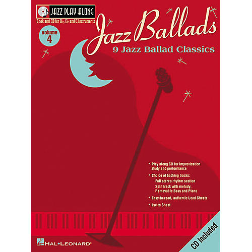 Hal Leonard Jazz Play-Along Series Jazz Ballads Book with CD