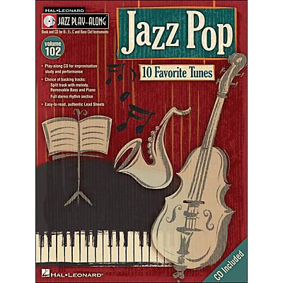 Hal Leonard Jazz Pop - Jazz Play-Along Volume 102 (CD/Pkg)