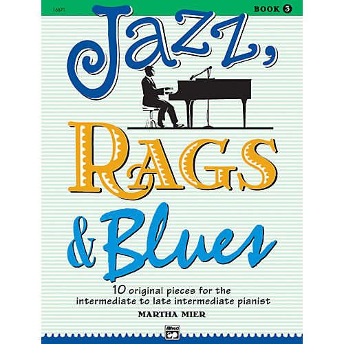 Alfred Jazz Rags & Blues Book 3