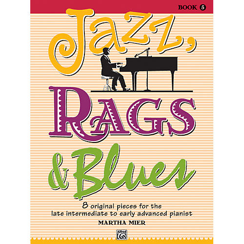 Alfred Jazz Rags & Blues Book 5 Piano