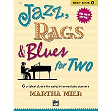 Alfred Jazz Rags & Blues for Two Book 1
