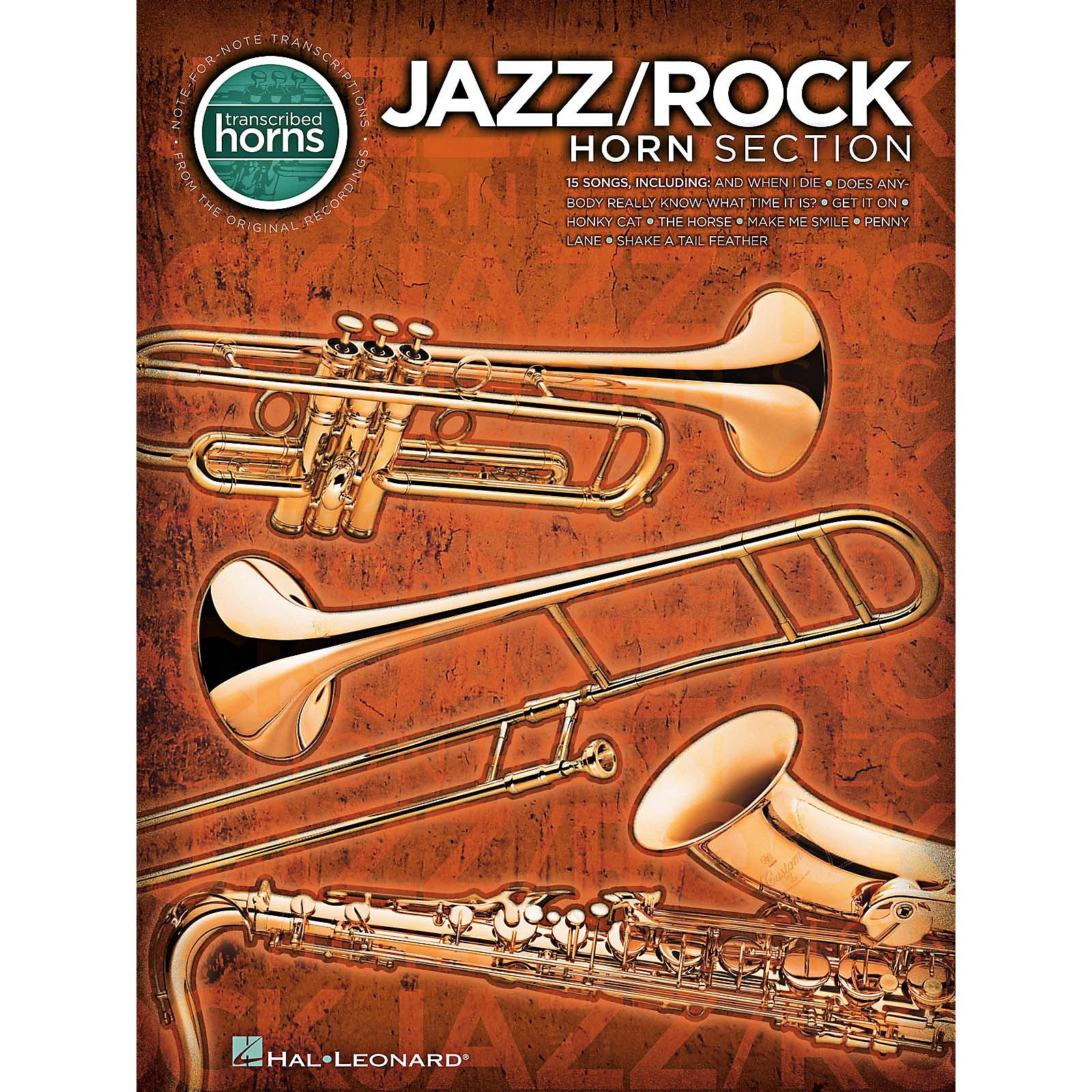 Hal Leonard Jazz/Rock Horn Section - Transcribed Horn Songbook