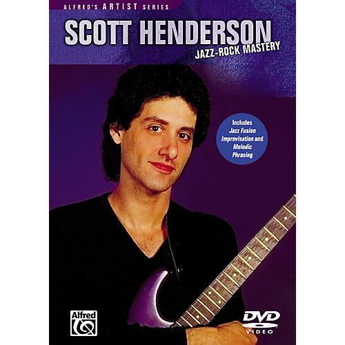 Alfred Jazz Rock Mastery - Scott Henderson DVD