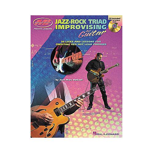 Musicians Institute Jazz-Rock Triad Improvising for Guitar (Book/CD)