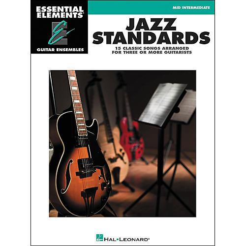 Hal Leonard Jazz Standards - Essential Elements Guitar Ensembles