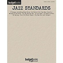 Hal Leonard Jazz Standards Budget Piano, Vocal, Guitar Songbook