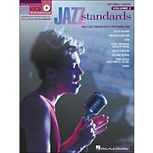Hal Leonard Jazz Standards for Female Singers Pro Vocal Series Volume 2 Book/CD