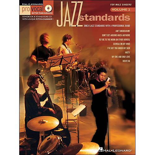 Hal Leonard Jazz Standards for Male Singers - Pro Vocal Series Volume 2 Book/CD
