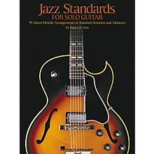 Hal Leonard Jazz Standards for Solo Guitar Tab Book