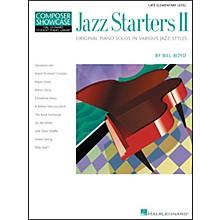 Hal Leonard Jazz Starters II Piano Solos Early Elementary Hal Leonard Student Piano Library by Bill Boyd
